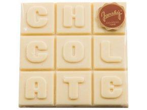 bílá čokoláda, skvělý dárek, mikulov, sýrárna Mikulov, delikatesy