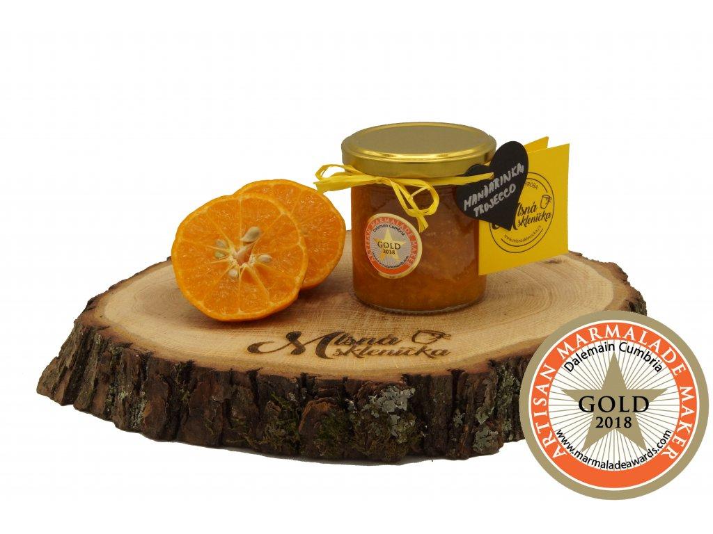 Mandarinkový džem s proseccem