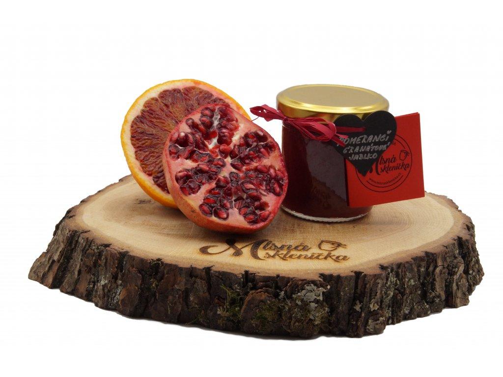Marmelada Krvavy Pomeranc s Granatovem Jablkem