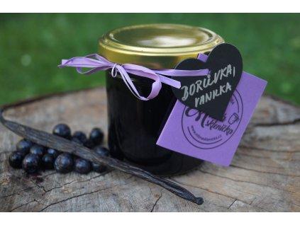 Borůvkový extra džem s vanilkou