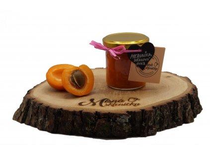 Meruňkový džem s březovým cukrem