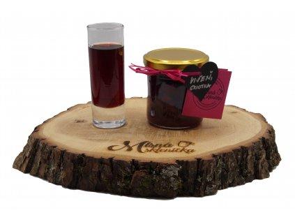 Višňový džem s griotkou
