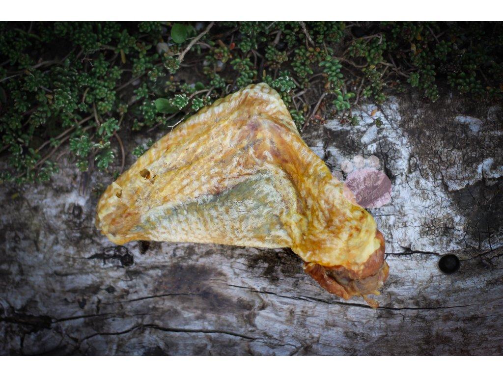 sušené morčacie krídlo