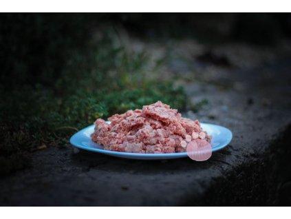 hovädzie mäso z hlavy
