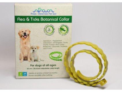 fleaticks botanical collar1