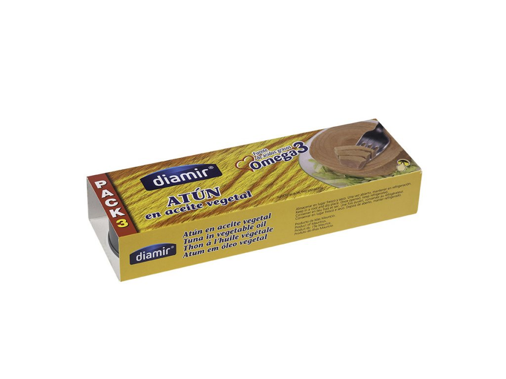 Tuňák v oleji 3 x 80 g