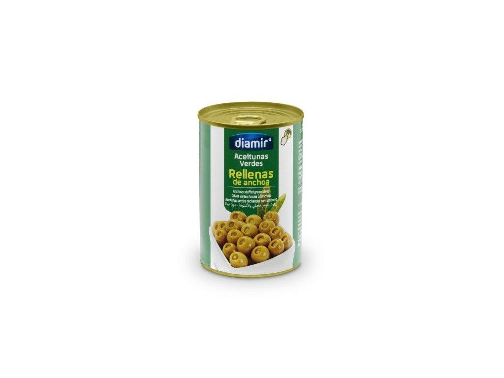 Olivy plněné ančovičkama 120 g