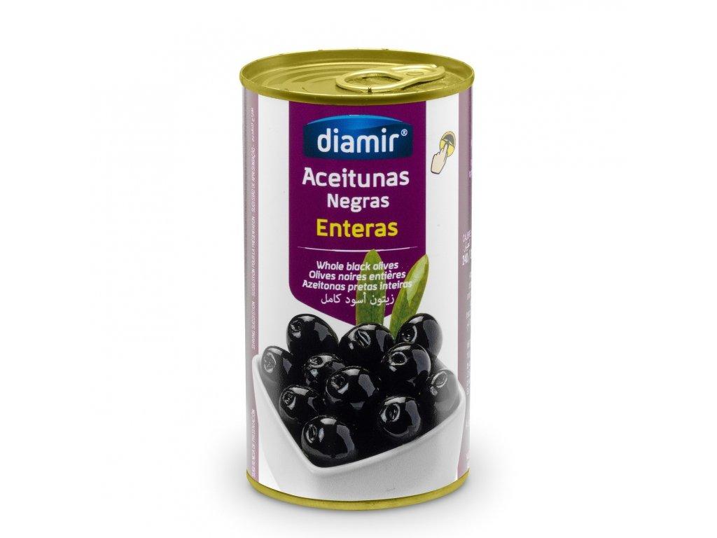 Černé olivy s peckou 150 g