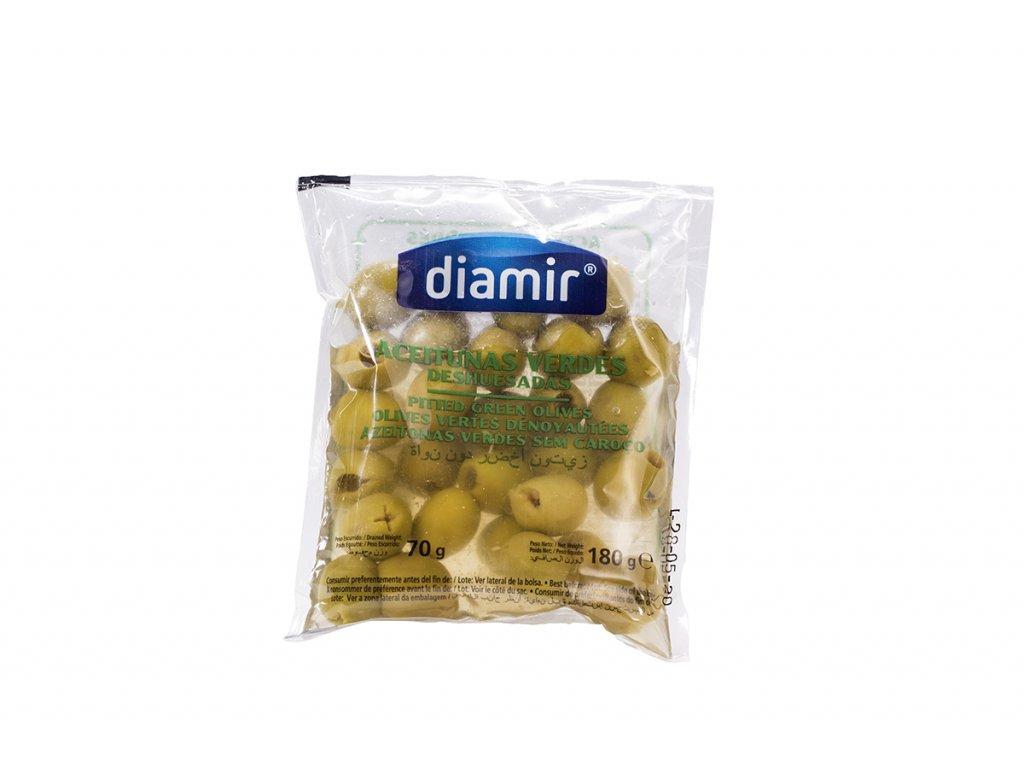 """Olivy manzanillas""""bez pecek sáček 180 g"""