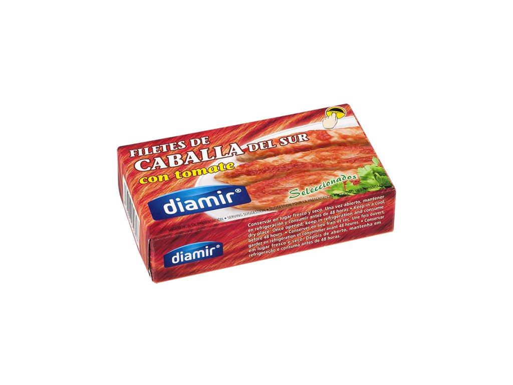 Makrela filety v rajčatové omáčce 90 g