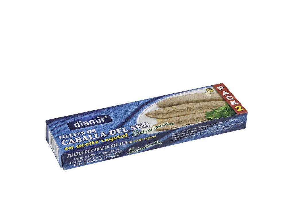 Makrela filety ve slunečnicovém oleji rr-90 f.a. Pack-2