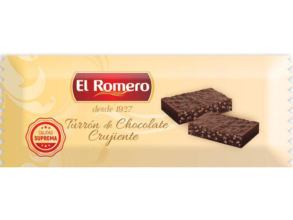 Turron křupavý čokoládový