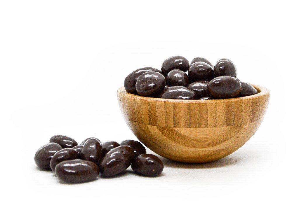mandle hořká čokoláda