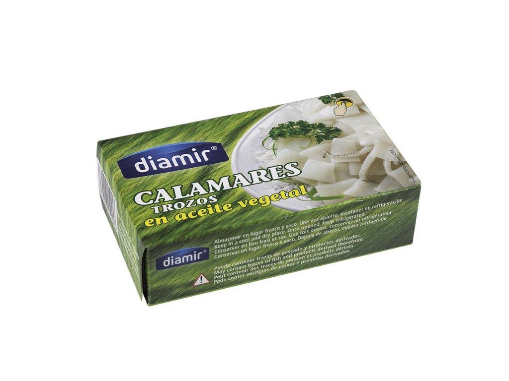 Kalamár v rostlinném oleji 110 g