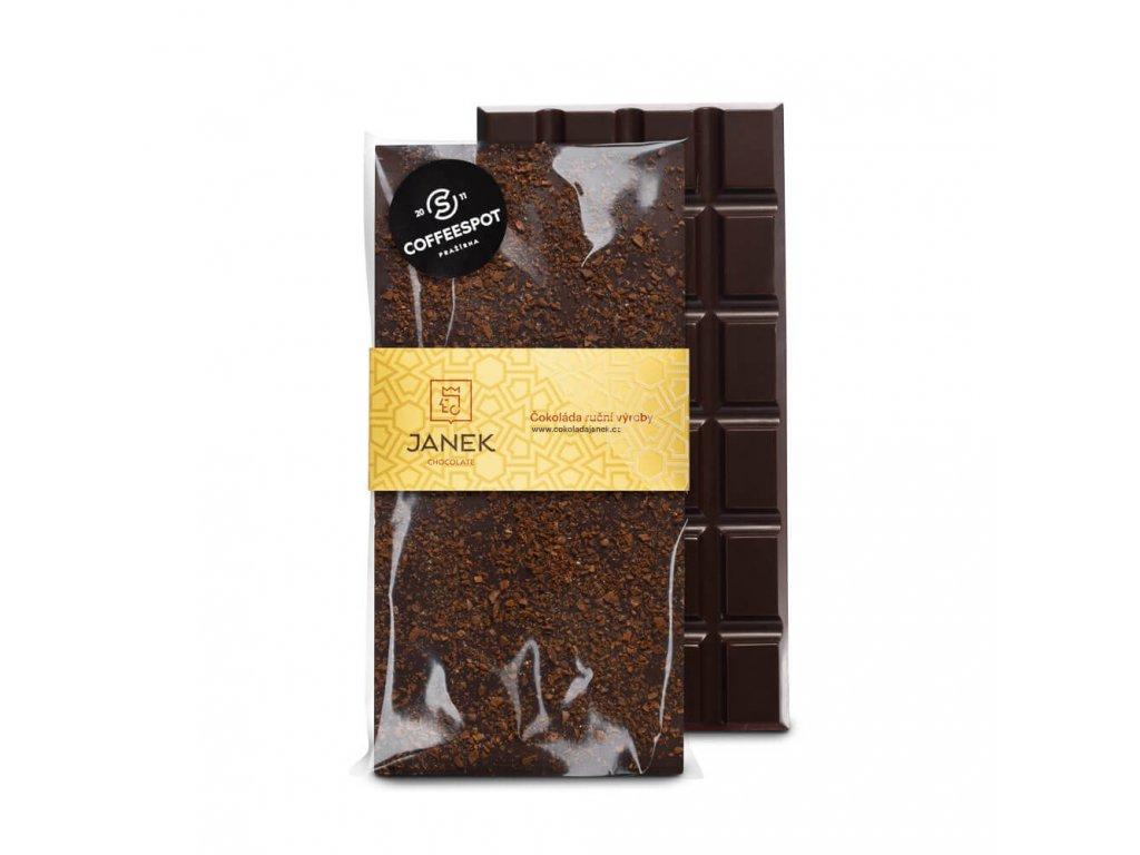 Hořká čokoláda s kávou