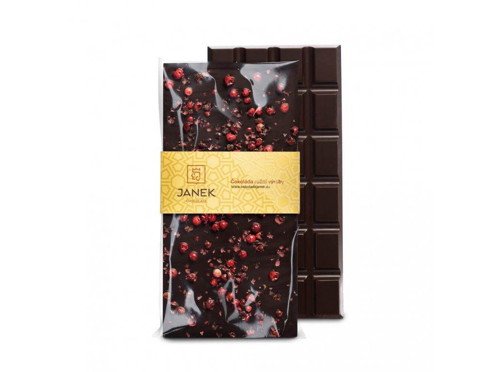 Hořká čokoláda s pepřem