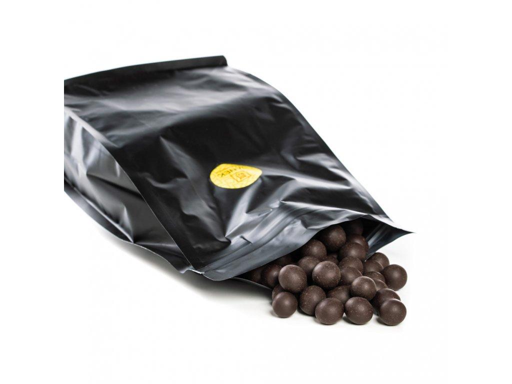 Lískové ořechy v tmavé čokoládě 150g