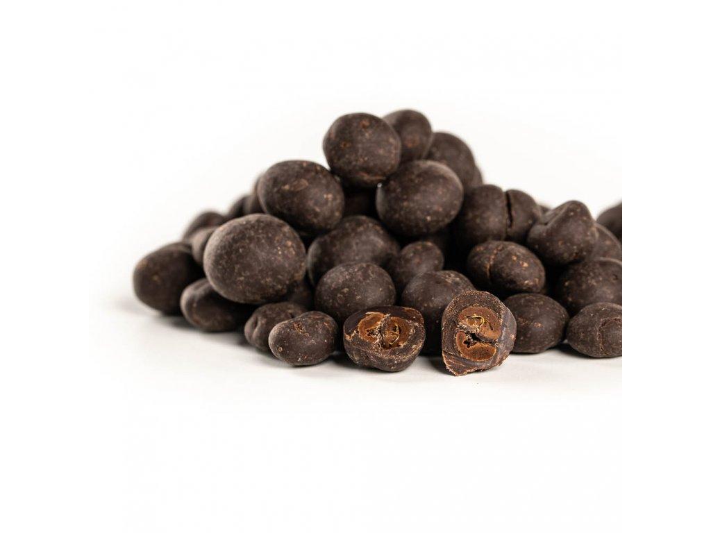 Kávové zrno v tmavé čokoládě 150g (JANEK + COFFEESPOT)