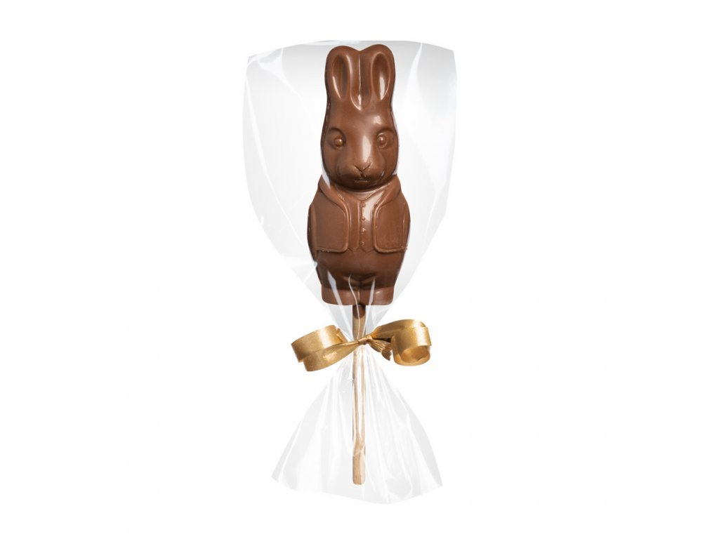 Mléčné čokoládové lízátko - zajíček