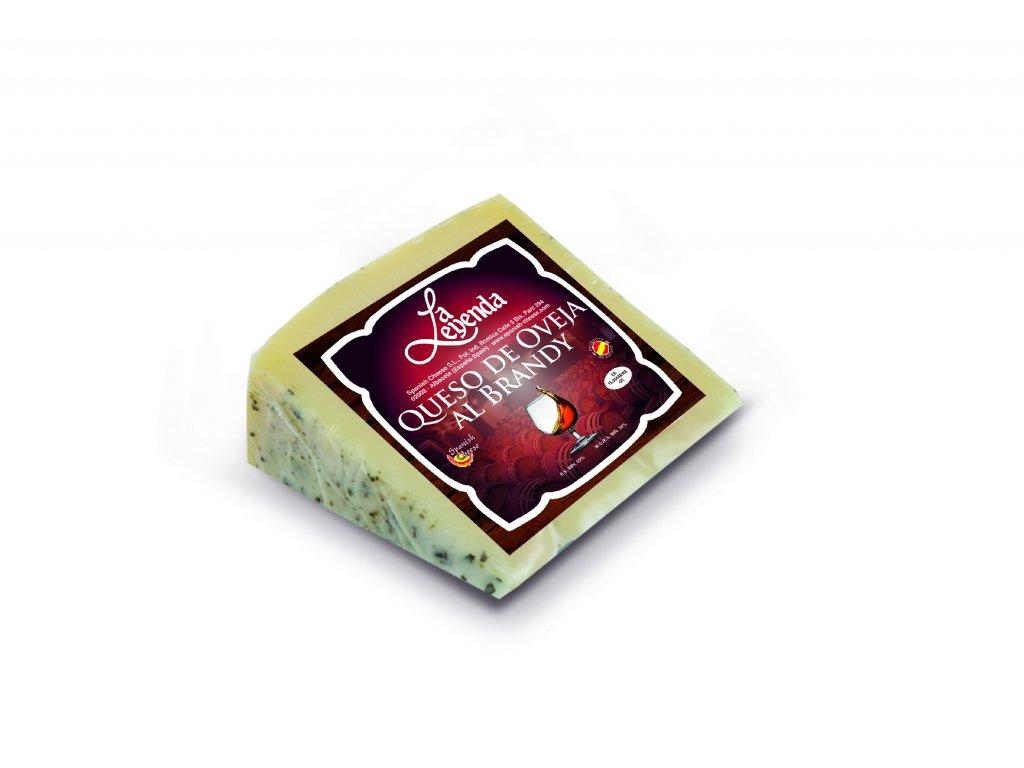 Ovčí sýr v brandy