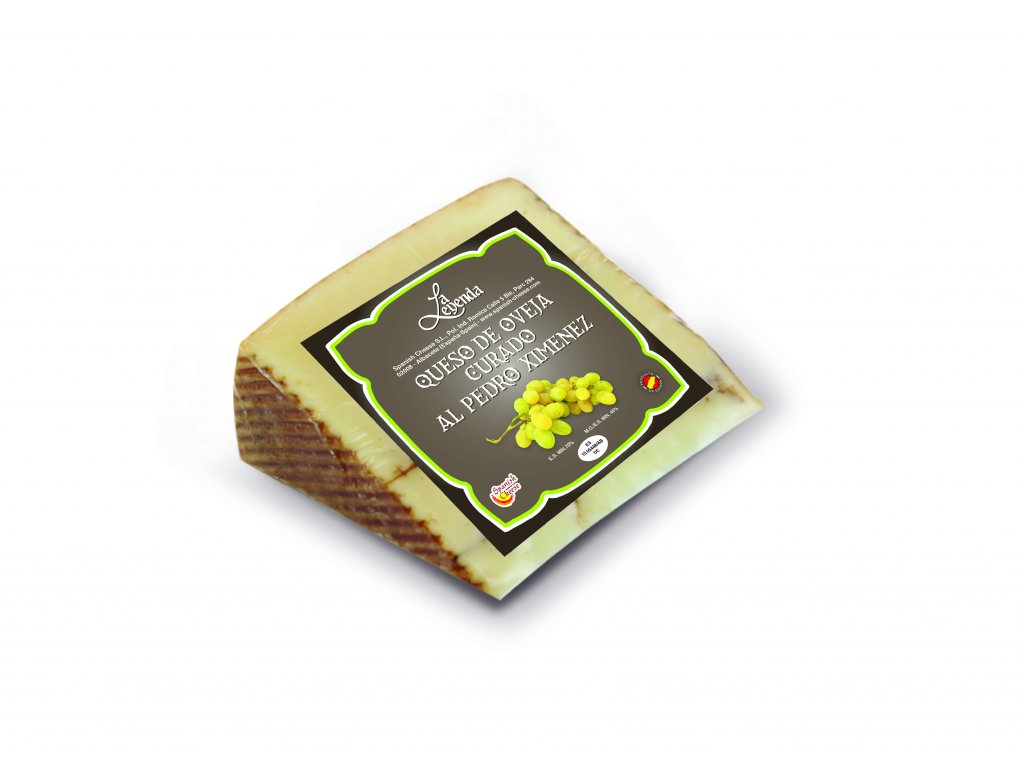 Ovčí sýr uzrálý na víně Pedro Ximenez