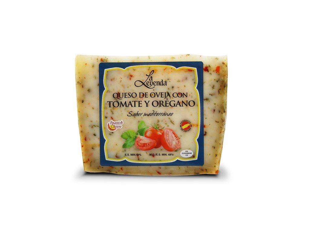 Ovčí sýr rajčata oregáno