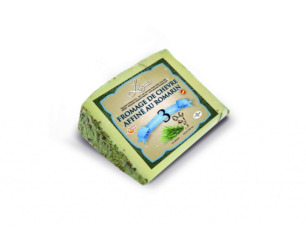 Kozí sýr uzrálý v rozmarýnu