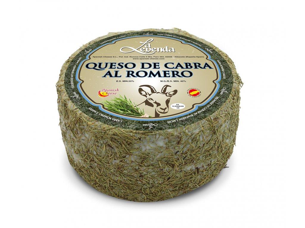 Kozí sýr vyzrálý v rozmarýnu 1 kg
