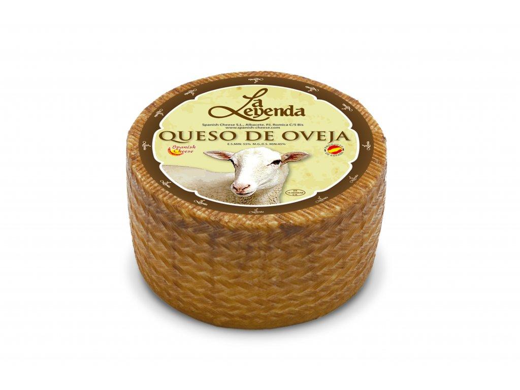 Ovčí sýr polotvrdý vyzrálý 1 kg