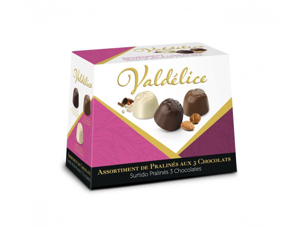Pralinky tří čokolád 150 g