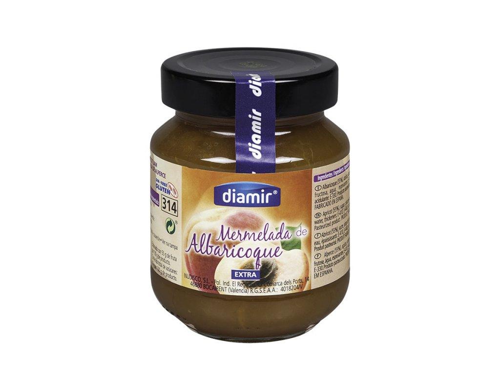 Meruňkový výběrový džem sklenice 314 ml