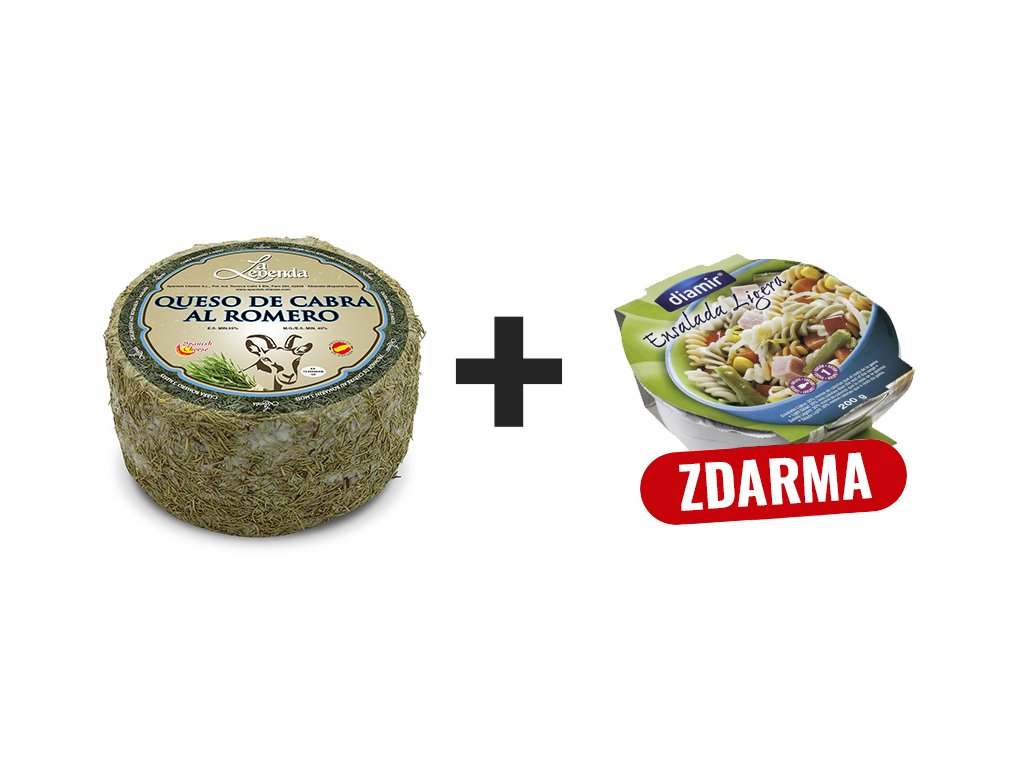 Kozí sýr + Salat