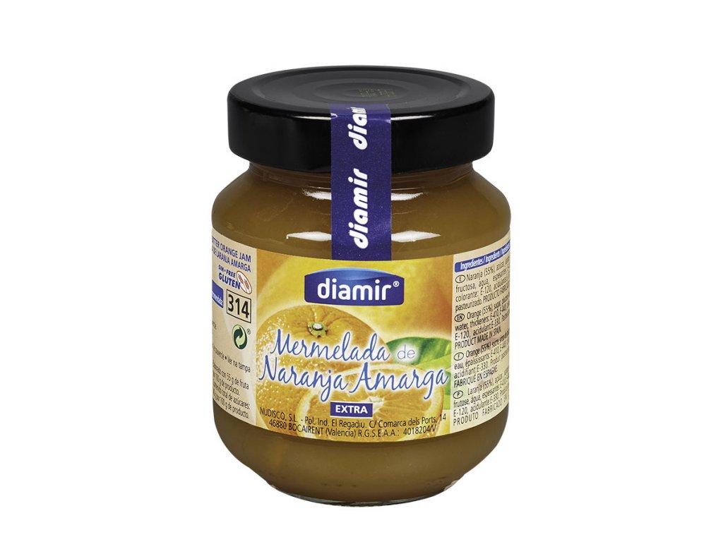 Pomerančová marmeláda sklenice 314 ml