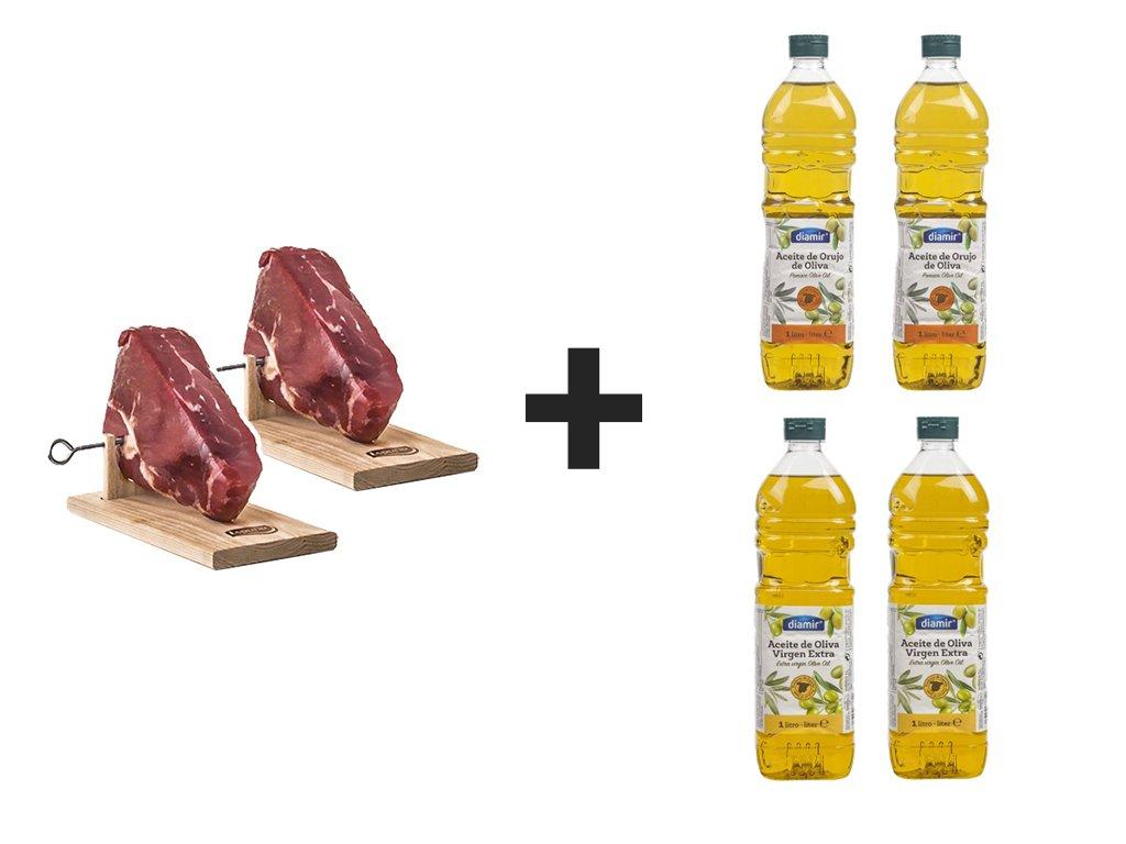 Sunka + Olej + Olivovy Olej