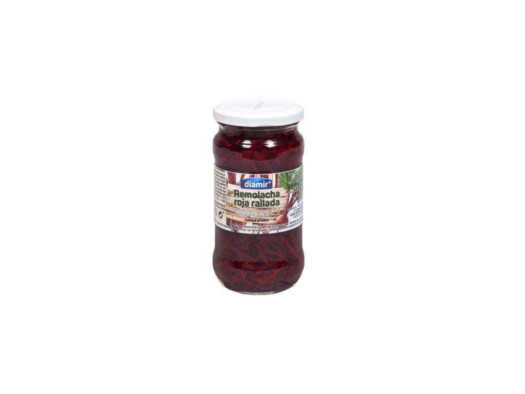 Červená řepa strouhaná sklenice 370 ml