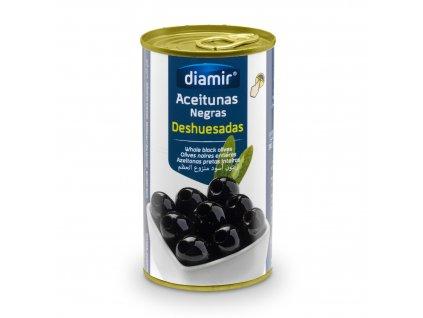 Černé olivy bez pecek 150 g