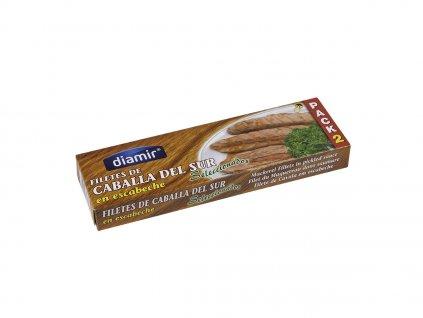 Makrela filety v omáčce escabeche 2 x 90 g