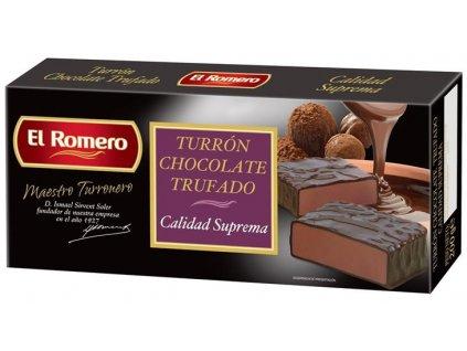 Turron s lanýži v čokoládě 200 g