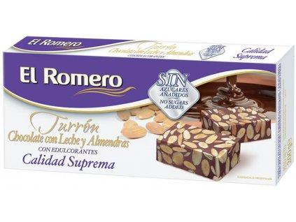 chocolate almendras edulcorantes suprema carton 200