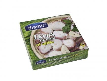 Kousky chapadel chobotnice na česneku  111 g