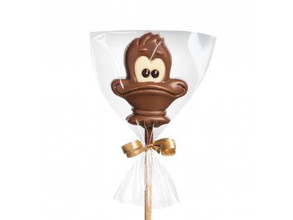 Čokoládové lízátko – kačer
