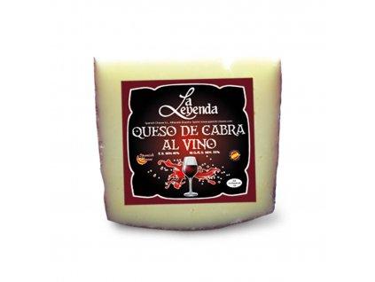kozí sýr na červeném víně 150 g