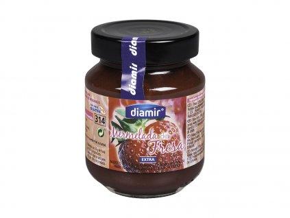 Jahodový výběrový džem sklenice 314 ml