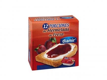 Jahodový výběrový džem vanička 12 x 20 g
