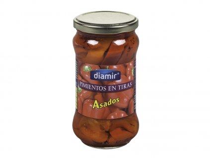 Grilovaná paprika proužky sklenice 314 ml