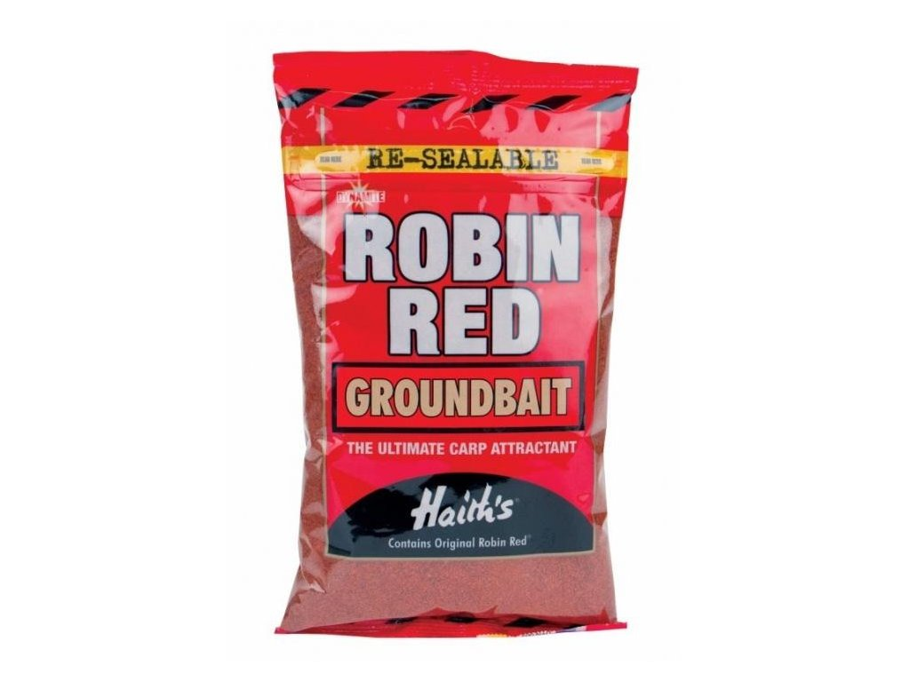 robin red krmení groundbait