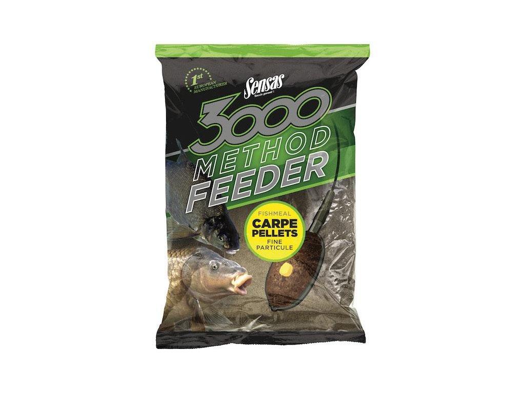 11822 sensas 3000 method feeder carpe pellets