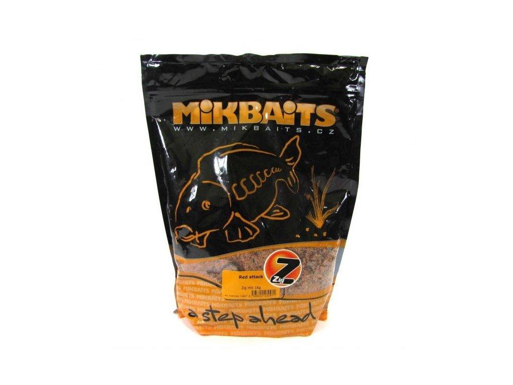 Mikbaits Zig mix 1kg (Příchutě Banán & Ananas)