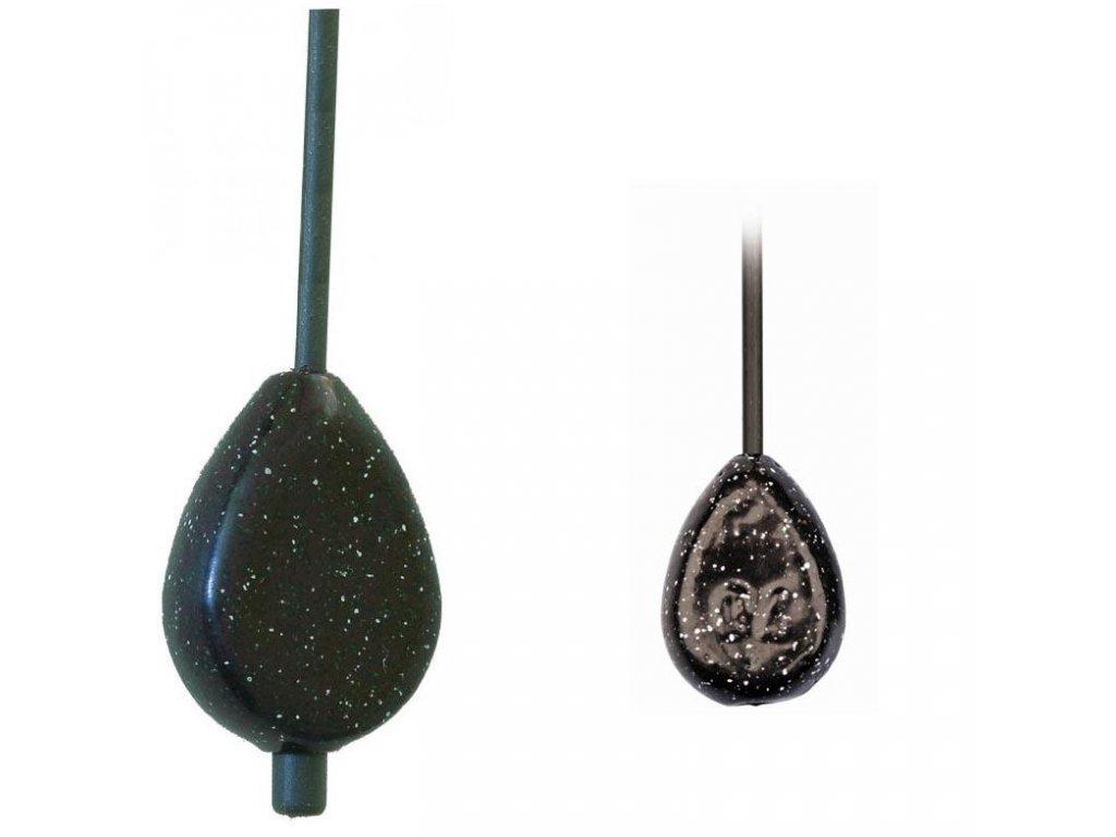 Olovo flat s tyčkou (Hmotnost zátěže 50g)