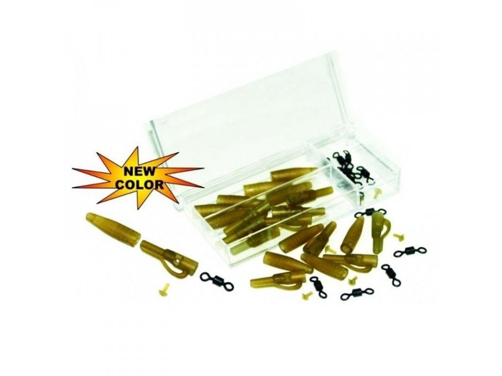 15926 extra carp lead clip extra box with rolling swivel